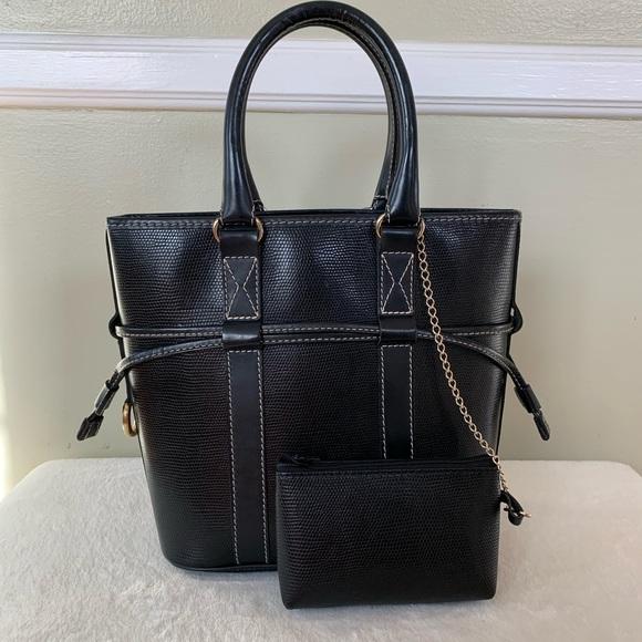 Handbags - Lancel Paris Leather handbag come with small pouch